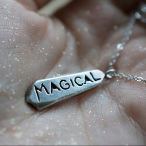 Magical Necklace - Sterling Silver